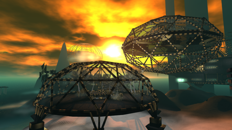 Alpha Tribe's Art Installation in Second Life®
