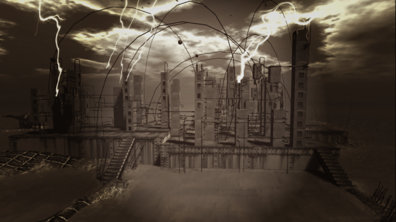 """""""Future"""", Art Installation in Second Life® by Cica Ghost"""