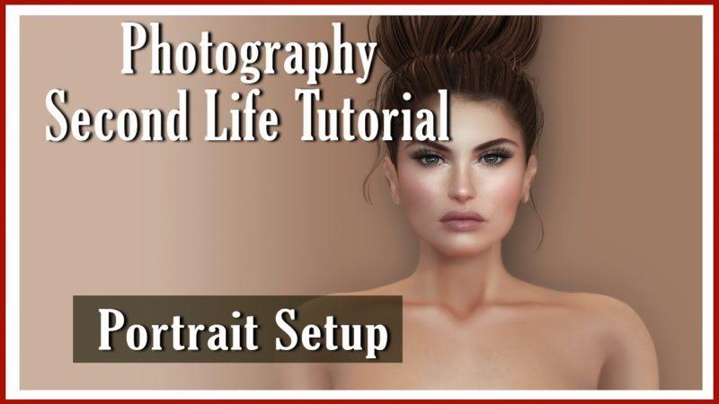 Second Life Tutorial Portrait