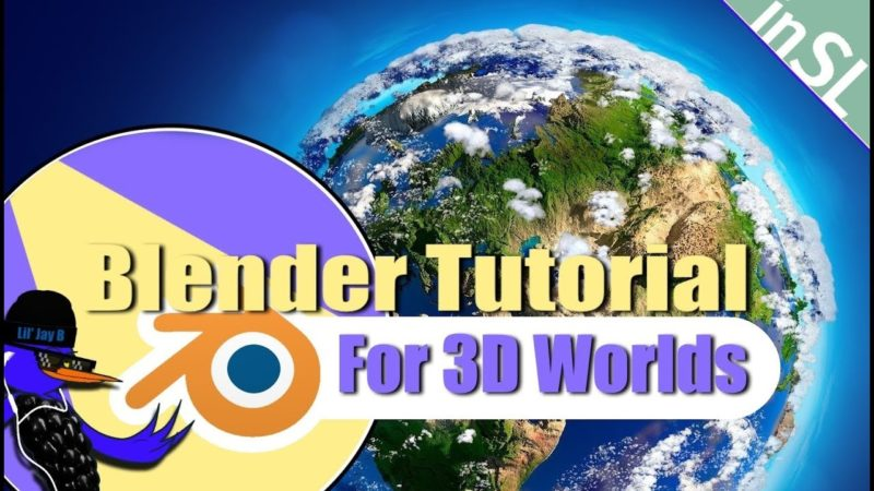 How to MAKE MESH FOR SECONDLIFE in BLENDER (ALL VERSIONS)