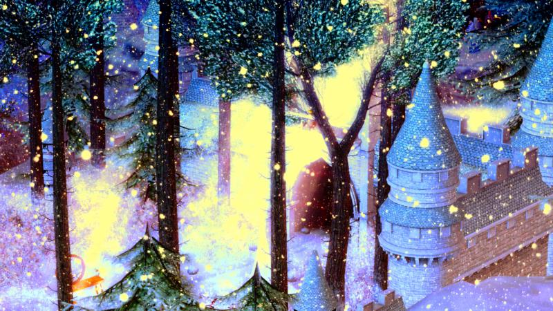 Lost Unicorn. A Unicorn Forest Sanctuary in Second Life®