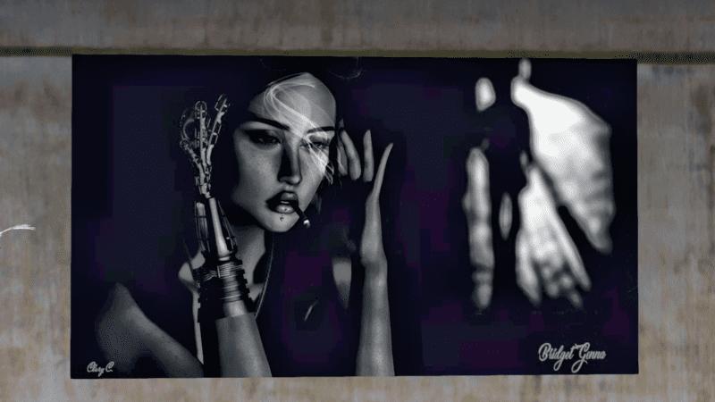 """""""Faces"""" by Clarissa Congrejo @Nitroglobus Roof Art Gallery"""