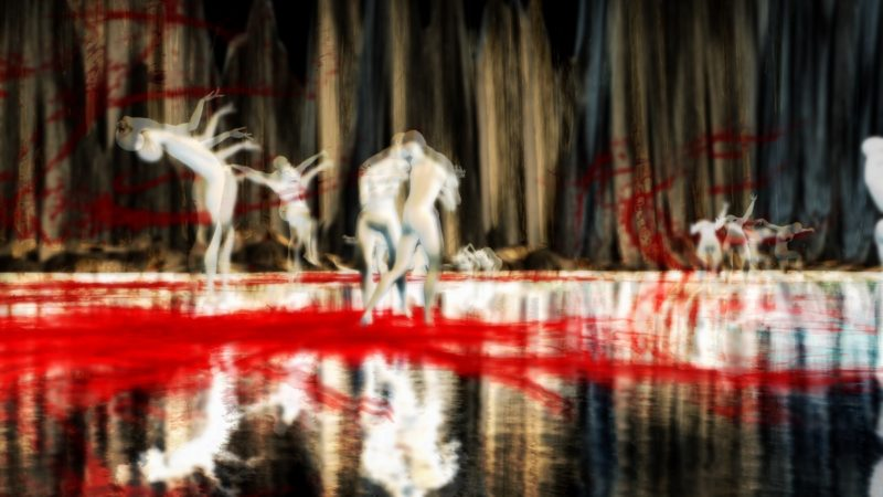 """""""Choreography of a tortured soul"""" by Theda Tammas in Second Life®"""