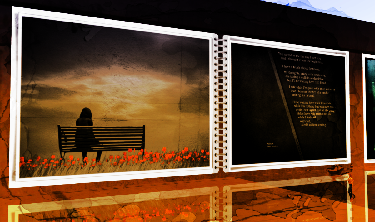 Out of here-Nitroglobus Roof Art Gallery in Second Life®