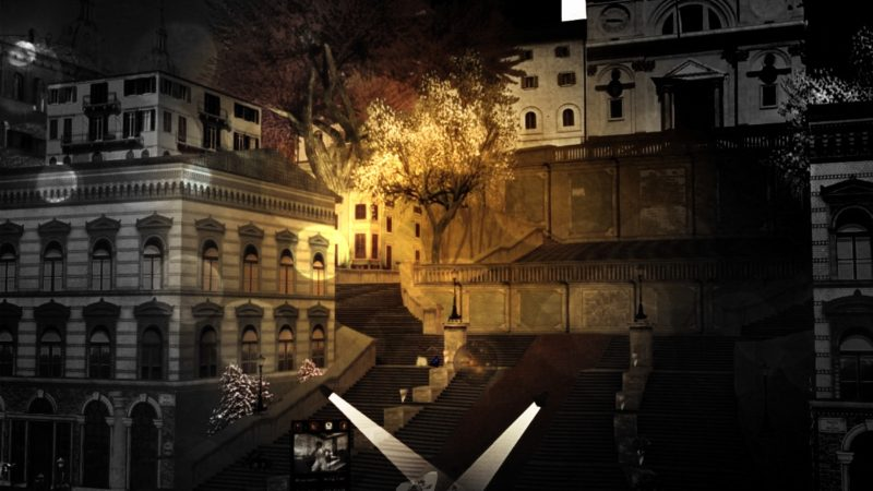 Astral Dreams Project: Italian art hosted by the evocative Spanish Steps