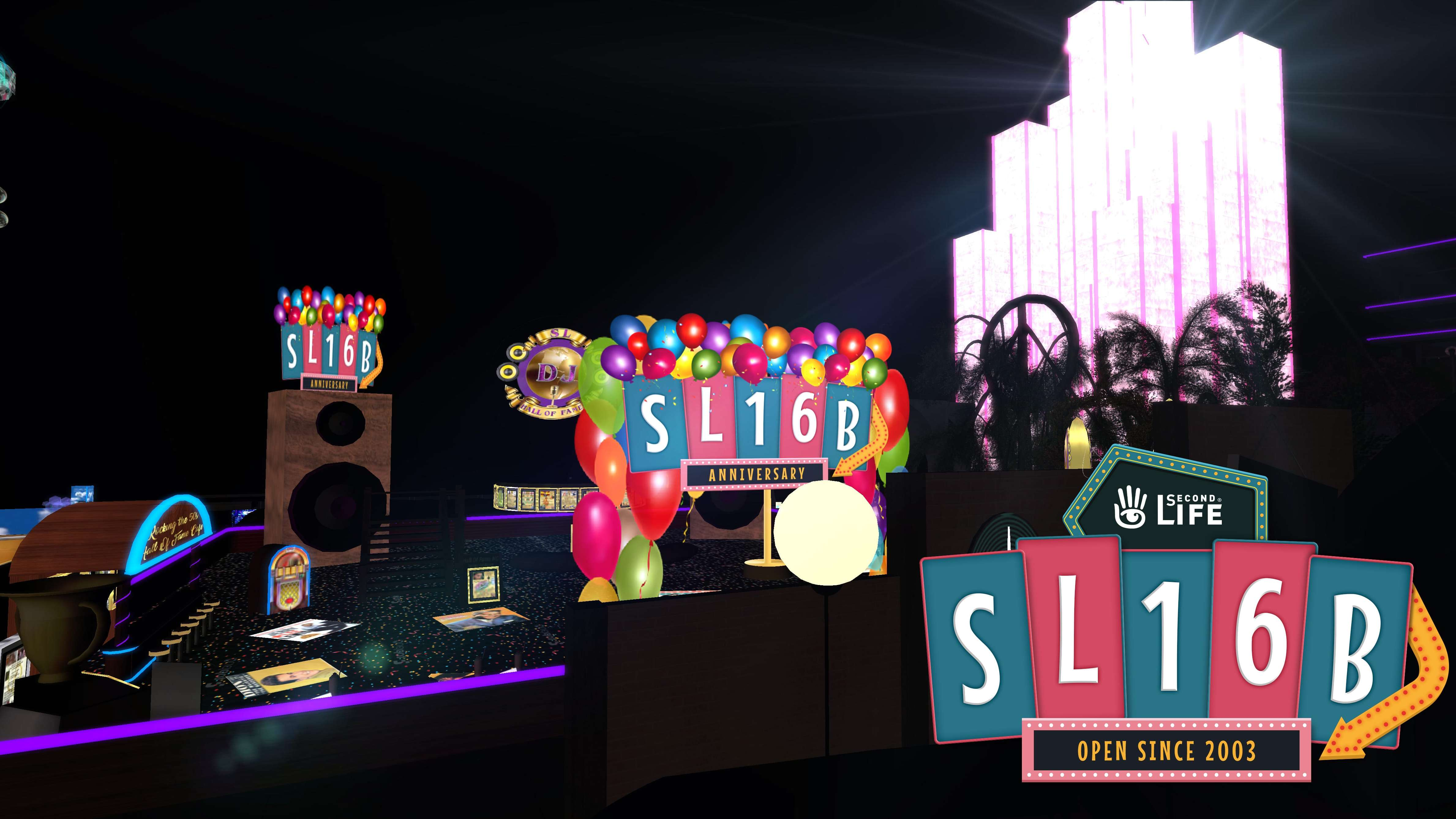 Welcome SL 16B! Finally open to everyone