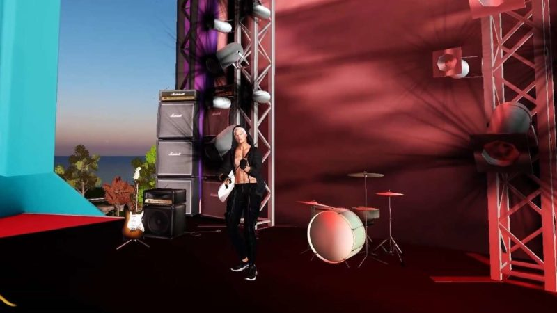 SL 16B Music Fair: the first event and live videos on Facebook