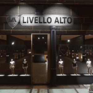 """""""Livello Alto"""", Italian Brand in Sansar"""