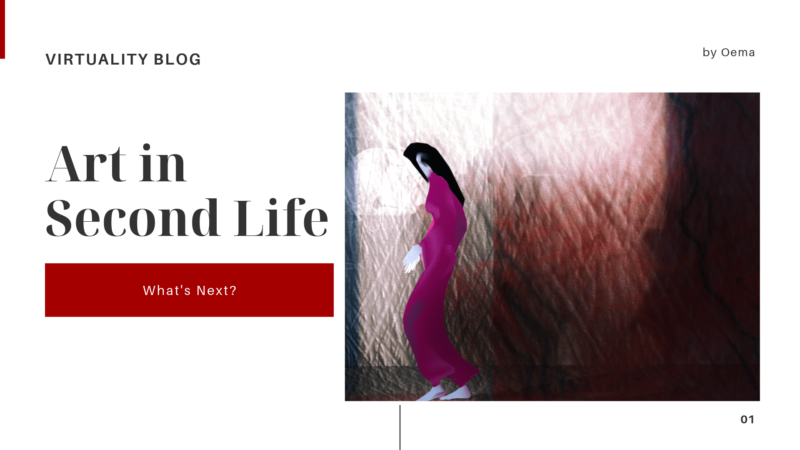 Art in Second Life: what's next?