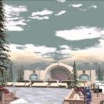 Bay City 2019 tree lighting fund-raiser in Second Life