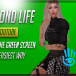 How to remove the GREEN SCREEN in the easiest possible way: Second Life Photography Tutorial