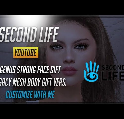GENUS strong face GIFT LEGACY mesh body GIFT edition – Customize with me (Avatar customization)