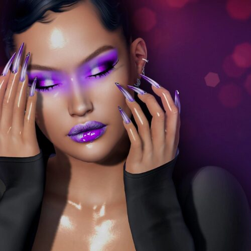 Glam♥it: ~~ Ysoral ~~ .: Luxe Nails Mercure:.