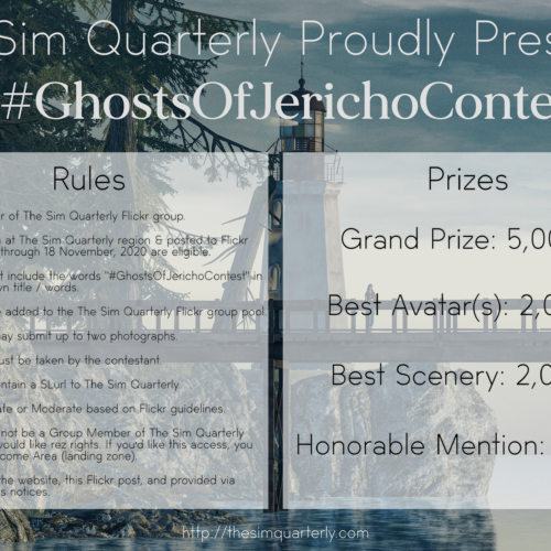 #GhostsOfJerichoContest—10K Lindens in Prizes!