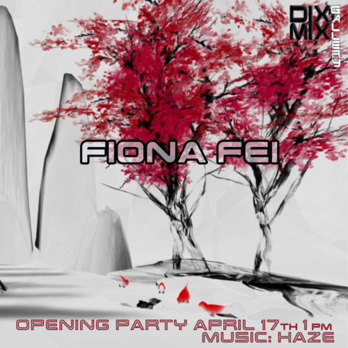 """""""Spring"""" installation by Fiona Fei at Dixmix Gallery"""
