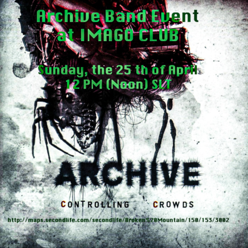 Archive Band event at IMAGO CLUB