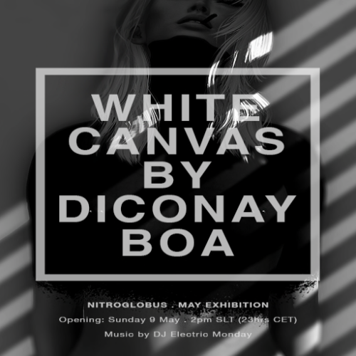 """""""White Canvas"""" by Diconay Boa @Nitroglobus Roof Gallery"""