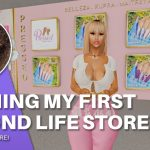 Opening My First In World Store!! | Second Life