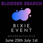 BIXIE EVENT BLOGGERS SEARCH