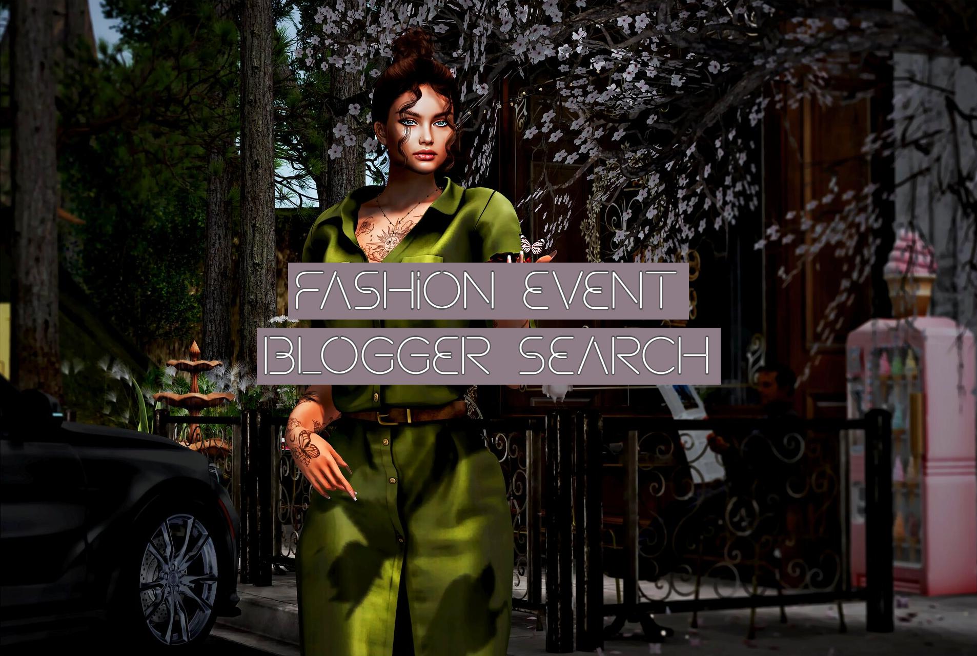 Fashion Events Blogger Search