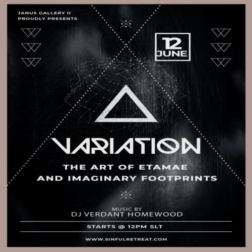 Variaton – The Art of Etamae and Imaginary Footprints