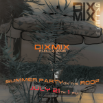 Chillaxing with Dixmix on the roof!