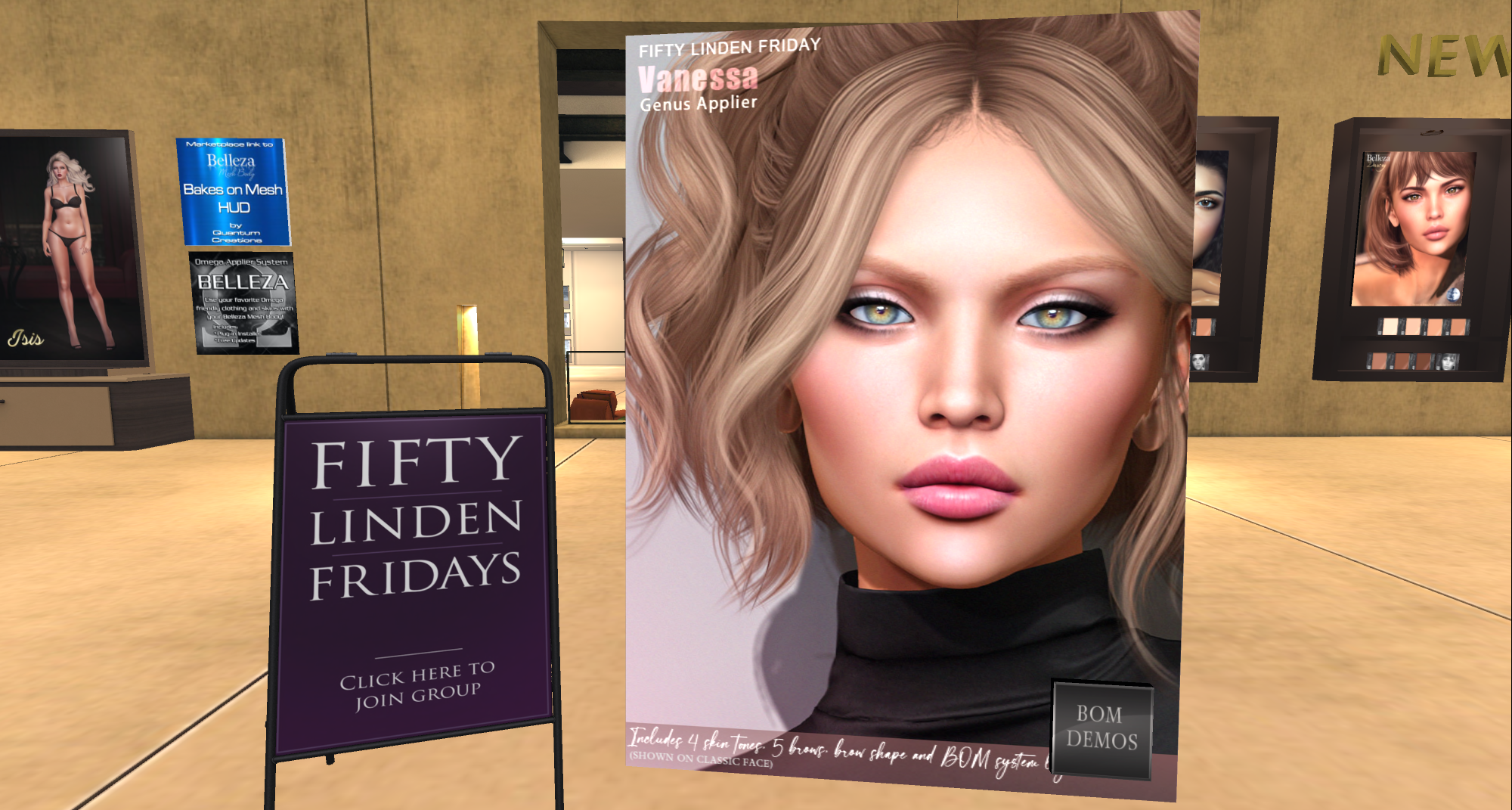 Your Fifty Linden Fridays list!