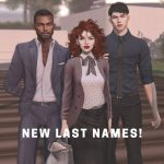 @SecondLife: New last names in #SecondLife available until mid-October!Click for details: