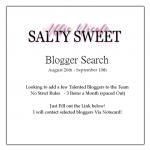 Second Life Bloggers Wanted: Salty Sweet